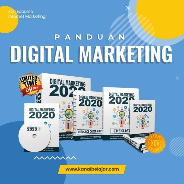 KanalBelajar - DESAIN COVER PANDUAN DIGITAL MARKETING 2