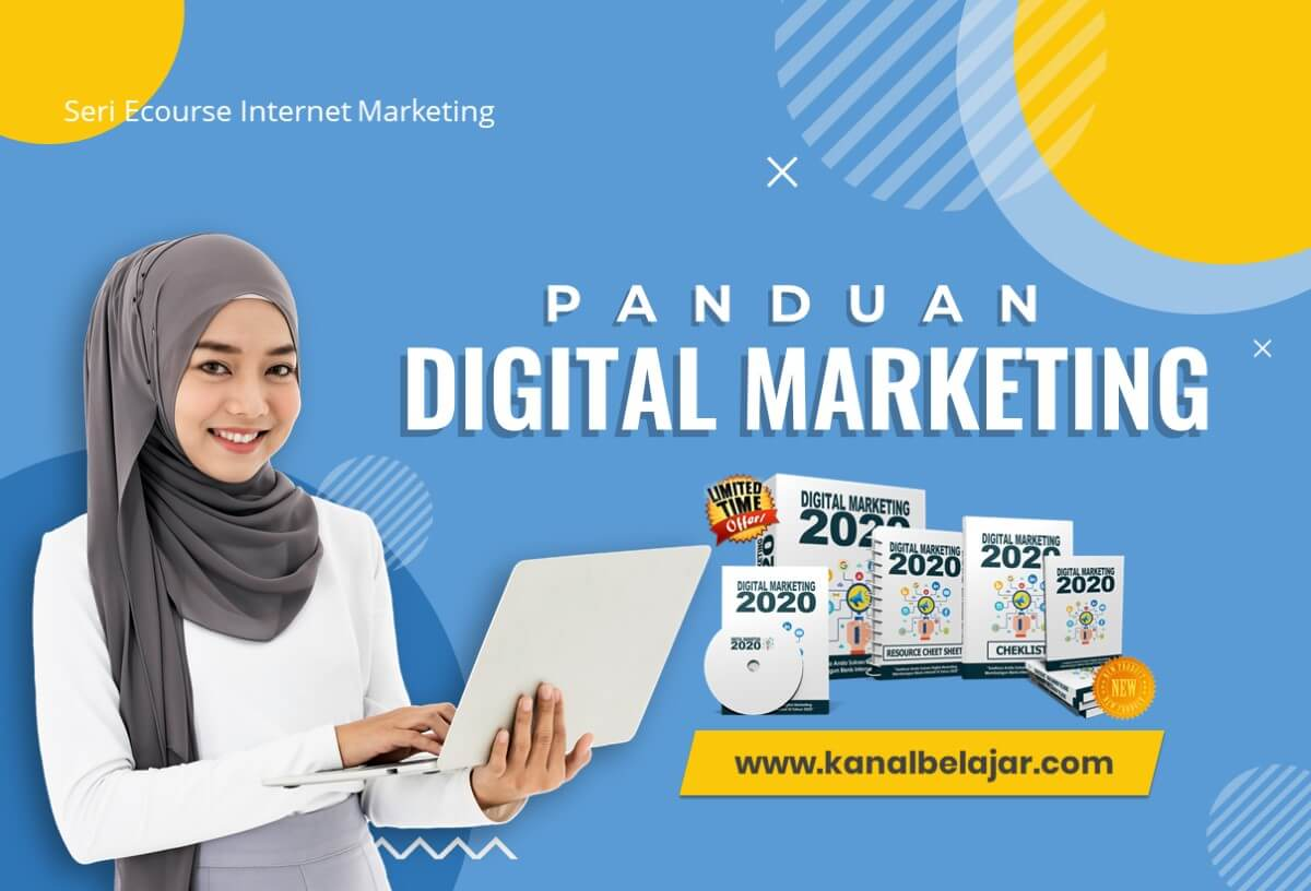 KanalBelajar - DESAIN COVER PANDUAN DIGITAL MARKETING